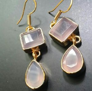 18kt gold filled over 925 Sterling Silver Earrings